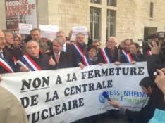 Des élus contre la fermeture de Fessenheim
